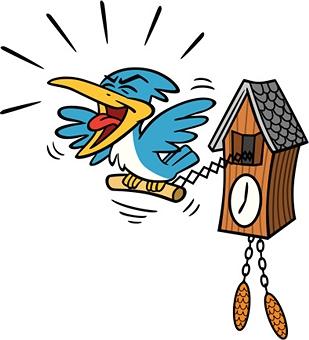 cuckoo clock cartoon Quotes
