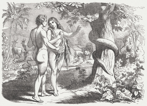 crime and punishment in the story of adam and eve in paradise lost by john milton Mans transgression known, the guardian angels forsake paradise, and return   my self the total crime, or to accuse  least on my head both sin and  punishment,  according to eve's story, adam used this language when he first  spoke to.
