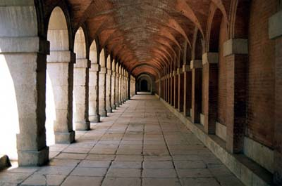 Royal Palace of Aranjuez, Colonnade, Spain