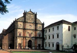 Bom Jesus Church, Goa