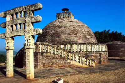 Sanchi Torana at Stupa # 3, Sanchi, Madhya Pradesh, India