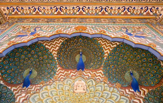 Peacock Gate, City Palace, Jaipur