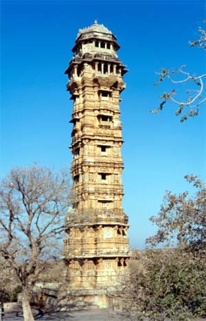 Vijay Stambh - Tower of Victory - Chittor