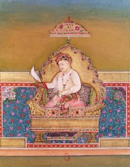 Portrait of Akbar