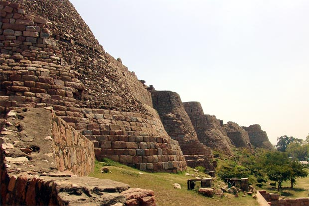 Ruins of the Tughlaqabad Fort