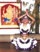 The Arangetram Scene by Raama Bharadvaj