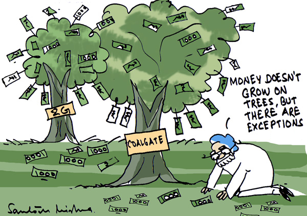Exceptionally Money Grows On Trees By Santosh Mishra
