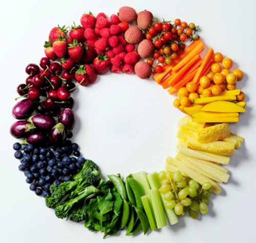 A Rainbow On Your Plate by Anjana Maitra