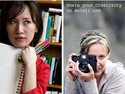 Share your creativity on Boloji.com