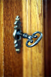 A Wooden Door, A Metal Key1.jpg
